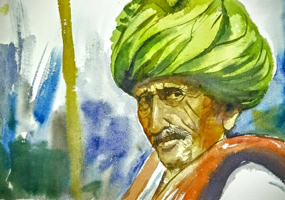 Watercolor – portrait !